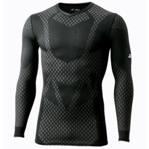 STB-A1017  YONEX STBウェア ユニセックス Vネック長袖シャツ カラー/ブラック サイズ S,M,L,O,XO   メーカー取り寄せ。 受注後在庫の有無 ご連絡いたします。|dazzle-sp