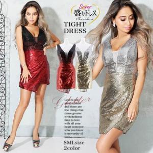 ドレス キャバ 盛りドレス スパンコール ノースリーブ タイト ミニドレス  ドレス ワンピース ミニドレス セクシ|dazzy
