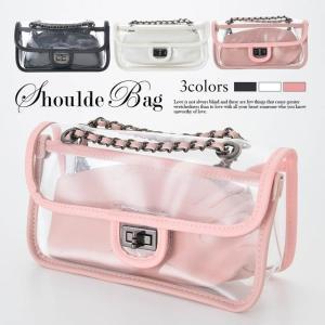 ハンドバッグ 2way クリア ショルダー バック 白 ピンク 黒 カジュアル ハンドバッグ ショルダーバッグ 手持ちバッグ カバン 鞄 バック|dazzy
