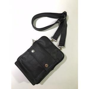 dbms Leather Shoulder Bag  No.1B (ショルダーバッグ)|dbms