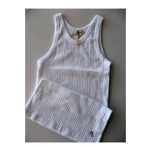 D.Lewis Athletic Shirts タンクトップ WHITE|dbms
