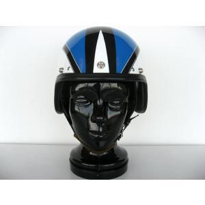 【受注オーダー】【DBMSオリジナル】【KANGOL METEOR TYPE】SPACE ROCKET (スペースロケット) WHITE×BLUE ホワイト×ブルー UK復刻ヘルメット|dbms