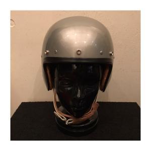 ROCKET MASTER Silver ロケットマスター シルバー (バイザー用スナップボタン:あり) UK復刻ヘルメット|dbms