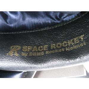 SPACE ROCKET WHITE×BLUE FLASH スペースロケット ホワイト×ブルーフラッシュ UK復刻ヘルメット 3rdタイプ|dbms|06