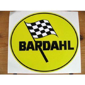 【ネコポス便発送可能】英国バイクステッカー Bardahl Oil Oval Sticker #17 オイル dbms