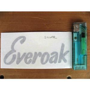【ネコポス便発送可能】エバーオークステッカー Everoak Helmet Cut Text Sticker #26 ヘルメット 英国輸入|dbms