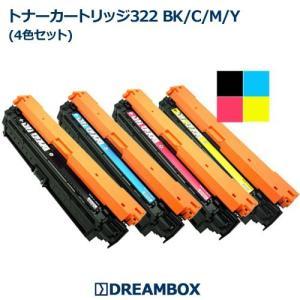 Canon トナーカートリッジ322 リサイクル 4色セット | Satera LBP9100C,LBP9200C等対応