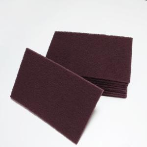 掃除 ナイロン不織布 汎用タイプ 10枚入り、工業用研磨ナイロンパット不織布 dc-lab