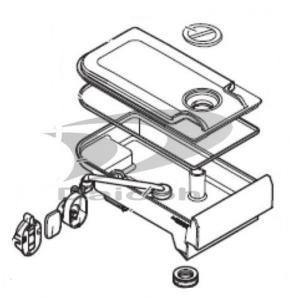 三菱 M20YK4520[その他・家電周辺]【部品】三菱 冷蔵庫 給水タンク