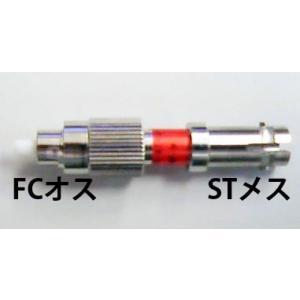 光変換プラグ【FCオス/STメス変換:シングルモード9/125】 [FC-ST-01-MF-S] dciwebstore