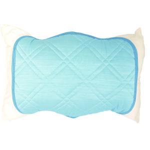 ★5000円以上で送料無料★ 冷感と吸水速乾のリバーシブルの枕パッド。 ●商品サイズ:幅500×奥行...