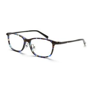 ★5000円以上で送料無料★ 自分の目でピントを探すシニアグラス ●カラー:青鼈甲。●サイズ:レンズ...