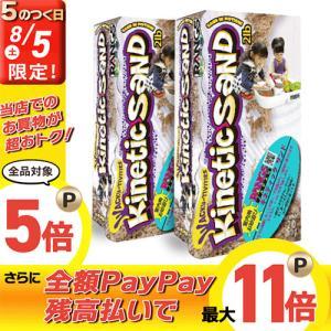 ラングスジャパン 室内用お砂遊び キネティックサンド/2個セ...