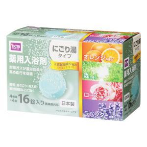 DCMブランド 薬用発泡入浴剤/にごりタイプ16錠の画像