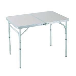 DCMブランド アルミフォールディングテーブル/幅90×奥60cm 90×60cm|dcmonline