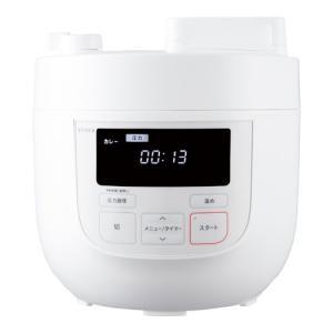 ★5000円以上で送料無料★ 1台5役のかんたん電気圧力鍋。大容量の4Lタイプ。 ●サイズ(約):幅...