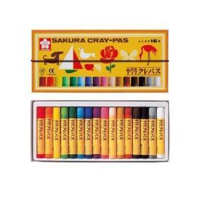 サクラクレパス クレパス太巻 16色/LP16R...の商品画像