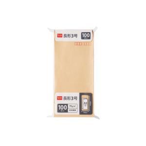 DCMブランド 封筒 長形3号100枚/S16-HU03|dcmonline