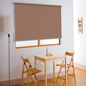 フルネス ロールスクリーン/アルティス 遮光タイプ 遮光ブラウン/80×220cm|dcmonline
