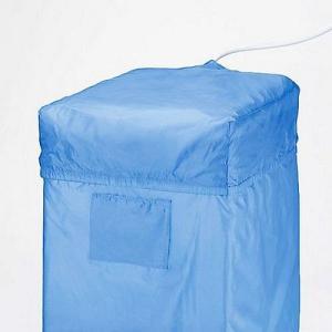 LEC 洗濯機カバー 全自動・二層式兼用 M ブルー/W-376