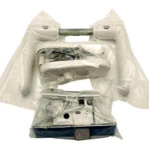 久力製作所 浴室用樹脂レバーハンドルセット/FU32-AP4-2A-WH-W30|dcmonline
