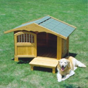 アイリスオーヤマ ロッジ犬舎/RK-950 ブラウン/W1185×D1060×H920mm|dcmonline