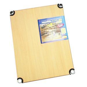 ●メタルラック専用の木目調棚板です。●作業台としても使用できます。●棚板固定部品4組付です。 ●奥行...
