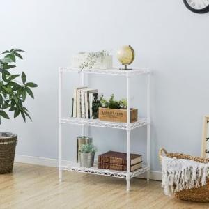 アイリスオーヤマ カラーメタルラック/CMM-55083  ホワイト ホワイト/幅550X奥行350X高さ800mm|dcmonline