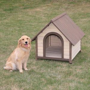 アイリスオーヤマ ウッディ犬舎/WDK-900 ブラウン 885×1020×870mm|dcmonline