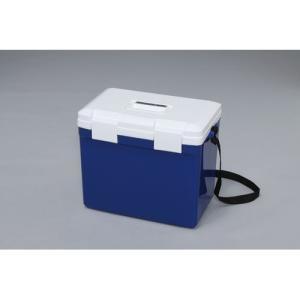 アイリスオーヤマ クーラーボックスCL-25 ブルー/ホワイト/CL25BL_1256 ブルー/ホワイト/容量:25L|dcmonline