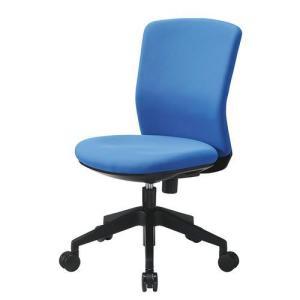 アイリスチトセ 回転椅子/HG-1000-M0-F ブルー/560X580X830-920mmの写真