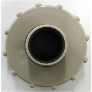 タキロン 雨水貯留タンク部品 キャップ 穴開き・ホース側/120?150リットル対応 みかげ色|dcmonline