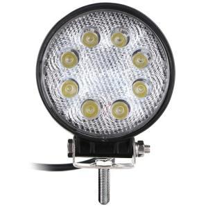 大型LEDで明るいLEDワークライト。 ●LED色:白。●LED数:8個。●消費電力:24W(3Wx...