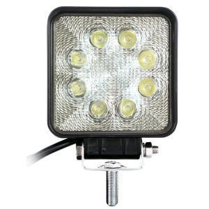 大型LEDで明るいLEDワークライト。 ●LED色:白。●LED数:8個。●消費電力:25W(3Wx...