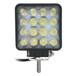 大型LEDで明るいLEDワークライト。 ●LED色:黄色。●LED数:16個。●消費電力:48W(3...