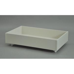 エイ・アイ・エス ベッド下収納BOX/BSB-8020 WH ホワイト/幅80x奥行50x高さ20cm|dcmonline