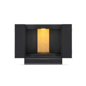 フランスベッド 仏壇 メモリーナ  SN-03 ブラック/(仏壇サイズ)16号 ブラック