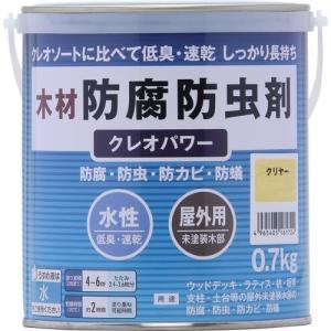 ★5000円以上で送料無料★ クレオソートに比べて低臭、速乾、長期間保護。 ●容量0.7kg。●色名...