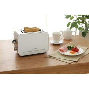アイリスオーヤマ ポップアップアトースター/IPT-850-W ホワイト|dcmonline