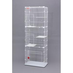 アイリスオーヤマ スリムキャットケージ(3段タイプ)/PSCC-753 3段|dcmonline