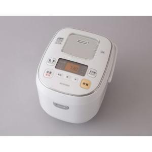 アイリスオーヤマ IHジャー炊飯器/ERC-IB50-W-D ホワイト  5.5合|dcmonline