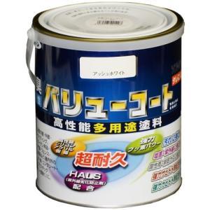 アサヒペン 水性バリューコート 1.6L/アッシュホワイト 1.6L|dcmonline