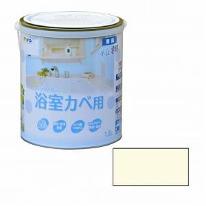 アサヒペン インテリアカラー浴室カベ用 1.6L アイボリー|dcmonline