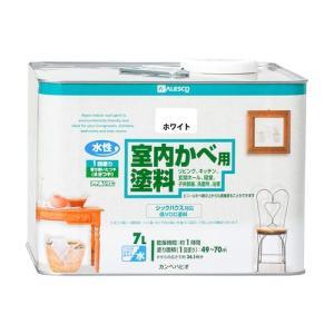 カンペハピオ 水性室内かべ用塗料/7L ホワイト|dcmonline