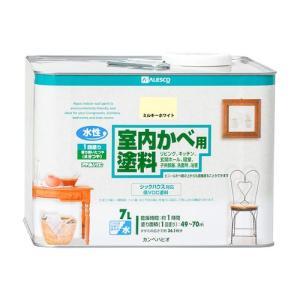 カンペハピオ 水性室内かべ用塗料/7L ミルキーホワイト|dcmonline