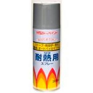 ニッペ 耐熱用スプレー300ml グレー
