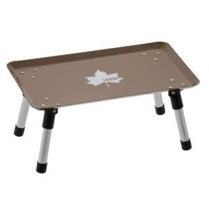 ロゴス スタックカラータフテーブル(ヴィンテージキャラメル)/73189050