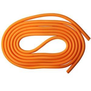 ★5000円以上で送料無料★ ●ストレッチ向きのひも状フィットネスチューブ!。 ●カラー:オレンジ。...
