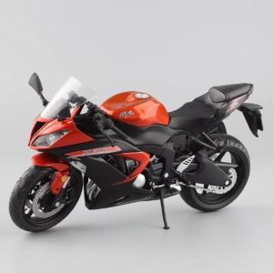 1:12 スケール おもちゃ kawasaki ninja ZX-6R カワサキ ニンジャ ダイキャストモデル 川崎 バイク オートバイ 飾り展示 コレクション ギフト プレゼント