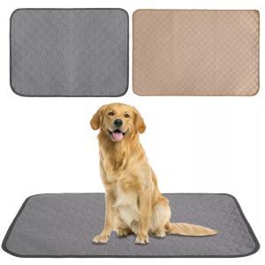 犬用 トイレ周りの汚れ防止マット Lサイズ トイレの躾や床の保護など